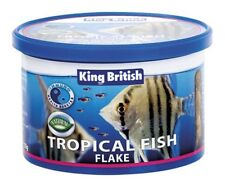 King British Complete Flake Food for all Tropical Fish 55g