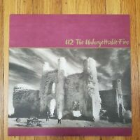 U2 The Unforgettable Fire 1984 NM Vinyl LP NM Record Cover Island 90231-1 Beauty