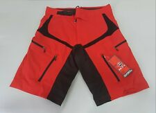 O'Neal Pin It Lightweight Comfort MTB Bicycle Cycling Short Red #1075-6