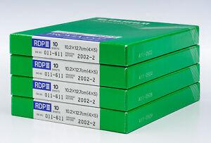 Fujichrome PROVIA 100F RDPIII 4X5 Film (4 Ten-Sheet Boxes) / NO RESERVE