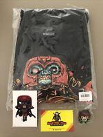 Marvel Funko Pop! Vinyl Marvel  Collector Corps Zombies Box T-Shirt XL Bundle