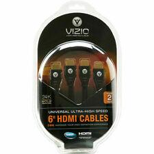 VIZIO VMAX1000-6D HD HDMI 1.3c Cable Dual Pack (6 Feet) - NEW™
