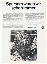 VW Recycling. Original-Werbeanzeige 1978.  Reklame Werbung. Volkswagen.