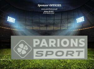 France sponsor officiel monblason maillot OM Parions Sport GF Away Ligue 1 20/21