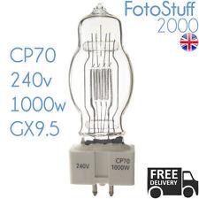 CP70 240v 1000w GX9.5 FVB Sylvania 3200K Theatre Stage Lamp Bulb