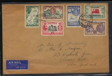 Tonga  nice franking cover to New Zealand       MS0424