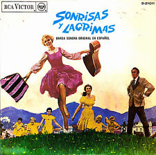"""OST SONRISAS Y LAGRIMAS - PRELUDE AND THE SOUND OF MUSIC + DO RE MI EP 7"""" SPAIN"""