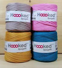 Hoooked `Zpagetti 4 x Baby Cones Uni` Neu Stoffgarn Hooked,Häkeln,Stricken 742