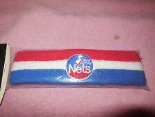 vintage new jersey nets headband