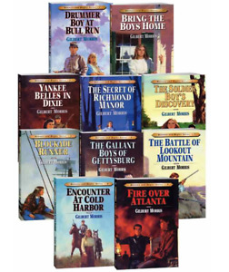 Bonnetts and Bugles 1-10  Drummer Boy At Bull Run....Gilbert Morris (Paperbacks)