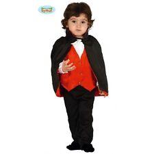VAMPIRO DRACULA COSTUME BAMBINO NEONATO BABY HALLOWEEN 6/12 MESI 83031