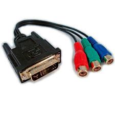 Cables y adaptadores de video de DVI-A macho a DVI-A macho DVI para TV y Home Audio