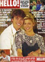 SUZANNE DANDO UK Hello Magazine 8/6/94 #316 GABRIELLE CARTERIS KAREN MULDER