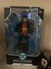 DC Multiverse ~ 7-INCH ROBIN (DAMIAN WAYNE) ACTION FIGURE ~ McFarlane Toys