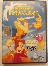 HERCULES WALT DISNEY OLOGRAMMA TONDO DVD USATO
