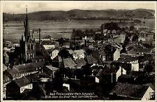 Bad Freienwalde Märkische Schweiz Oderland ~1940 Oderbruch Kirche Panorama Stadt