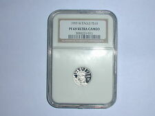 1999-W American Eagle Platinum $10 Coin NGC PF 69 UC