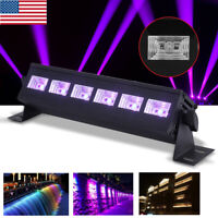 18W 6 LED UV Lights Black Lights LED Stage Lighting Bar Wall Wash Light DJ Party