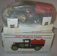2 LOT Clarks Super Gas 1:25 Scale 1930's Model A Tanker Coin Bank FREE Shipping