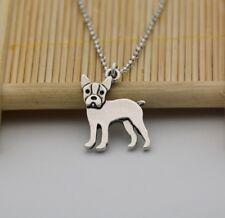Cartoon Boston Terrier Pendant Necklace ANIMAL RESCUE DONATION