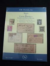 "H R HAMER AUCTION CATALOGUE 2007 SPAIN & LATIN AMERICA ""FERNANDEZ"" & ""GELABERT"""