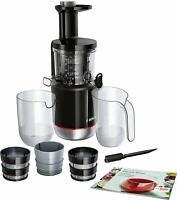 Bosch Slow Juicer MESM731M VitaExtract Licuadora prensado lento 150 W, 3 filtros