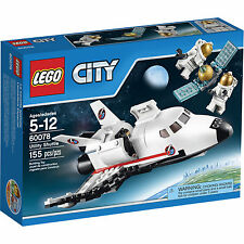 60078 UTILITY SHUTTLE lego city town NISB space NEW legos set satellit astronaut