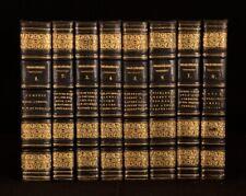 1830 8Vols W.Harness Shakespeare's Dramatic Works Full Morocco Gilt Borders