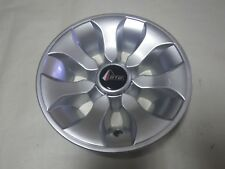 "Golf Cart EZGO Yamaha Club Car 8"" Drifter Silver Wheel Cover Hub Cap"