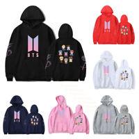 BTS Bangtan Boys Casual Hoodies Pullover Sweatshirt JUNG KOOK V JIMIN J-HOPE JIN