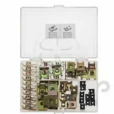 60X Fairing Clip Nut Extruded U Nut Fastener Assortment Speed Mounting Clamp