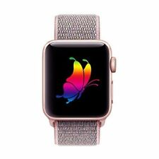 Wrist Band for Apple Watch Sport iWatch Loop Band 38mm Series 1 2 3 Pink Sand
