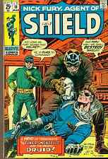 NICK FURY, AGENT OF SHIELD #18 (1971) Marvel Comics VG+/FINE- Jack Kirby art