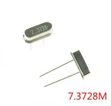10pcs Good HC-49S 7.3728MHz 7.3728.000 MHz 7.3728M Hz Crystal Oscillator HC-49S