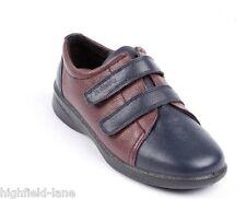 Padders REVIVE Womens Ladies Leather Comfort EEE/EEEE Wide Fit Orthopaedic Shoes
