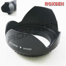 52 mm 52mm plastic petal lens hood for Canon Nikon Tamron Sony standard lens