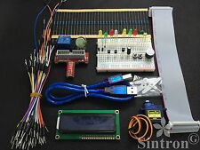 [SINTRON] Upgrade GPIO Kit for Raspberry Pi B, Servo Stepper LCD 1602 Relay LED