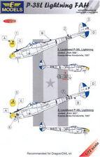 LF Models Decals 1/72 P-38L LIGHTNING HONDURAS AIR FORCE