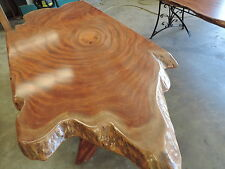 TIMBER SLAB TABLE