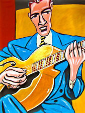 JOHNNY SMITH PRINT poster jazz guitar epiphone emperor roost sessions cd archtop
