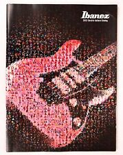 Ibanez 2012 Electric Guitar Catalog - Satriani Vai Jem Korn Munky Slipknot
