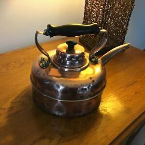 Vintage Simplex Copper Kettle Quick Boiler Registered  Design No 840683