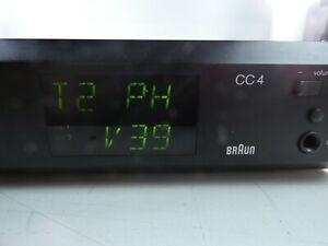 BRAUN Braun Atelier HiFi Tuner Vorverstärker CC4 schwarz sehr guter Zustand JT-5