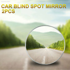 "7A9F 1 pair of HD Frameless Blind Spot Mirror - Round 2"" Convex Glass Mirror"