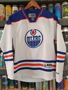 Edmonton Oilers Womens Small NHL Ice Hockey Jersey Top Ladies Vintage Retro Rare