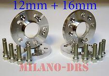 KIT DISTANZIALI RUOTA 12+16mm AUDI A4 / S4 / A4 ALLROAD QUATTRO Bullone SFERICO