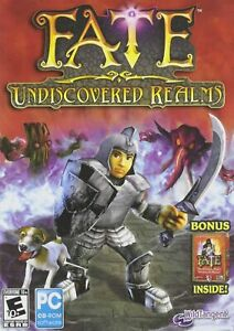 FATE Undiscovered Realms PC Game With BONUS Original PC Game Free Shipping