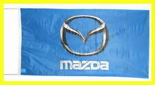 MAZDA FLAG BANNER  3D 3 6 miata rx7 rx85 X 2.45 FT 150 X 75 CM