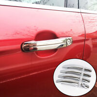 Fit For Ford Focus Mk2 05-11 Chrome Door Handle Cover Trim Catch Molding Overlay