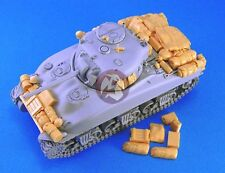 Legend 1/48 M4A1 Sherman Tank Stowage and Accessories Set WWII [Resin] LF4104